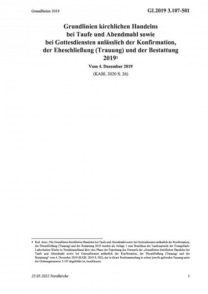 3.107-501 Grundlinien 2019
