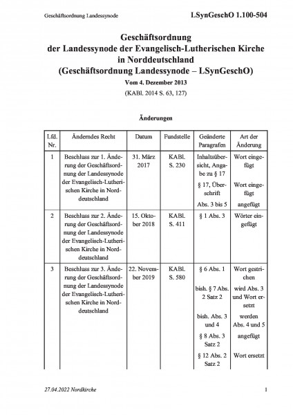1.100-504 Geschäftsordnung Landessynode