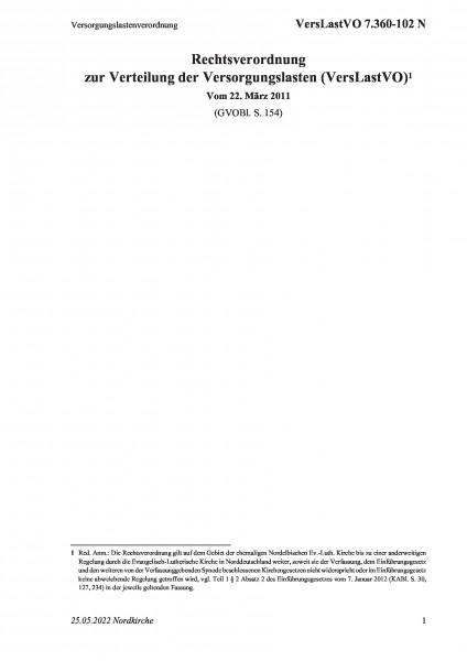 7.360-102 N Versorgungslastenverordnung