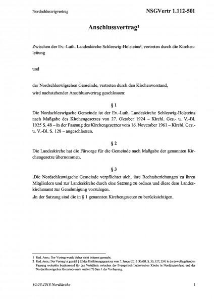 1.112-501 Nordschleswigvertrag