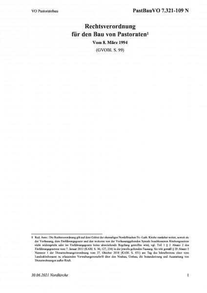 7.321-109 N VO Pastoratebau