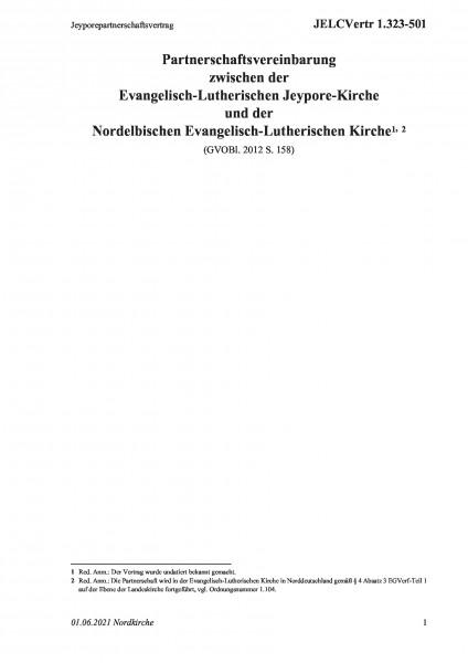 1.323-501 Jeyporepartnerschaftsvertrag