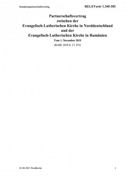 1.345-501 Rumänienpartnerschaftsvertrag