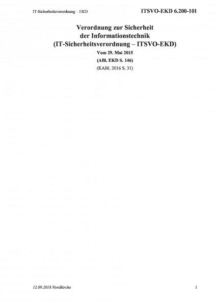 6.200-101 IT-Sicherheitsverordnung – EKD