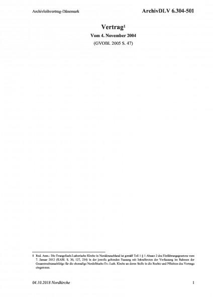 6.304-501 Archivleihvertrag-Dänemark