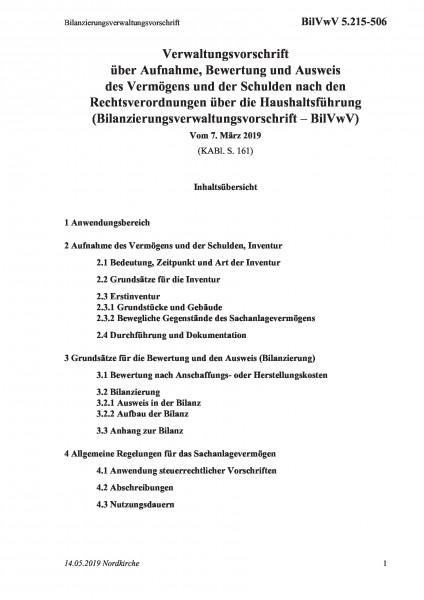 5.215-506 Bilanzierungsverwaltungsvorschrift