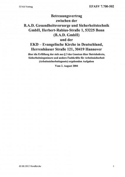 7.700-502 EFAS-Vertrag