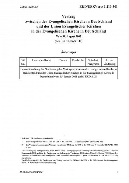 1.210-501 Vertrag EKD/UEK