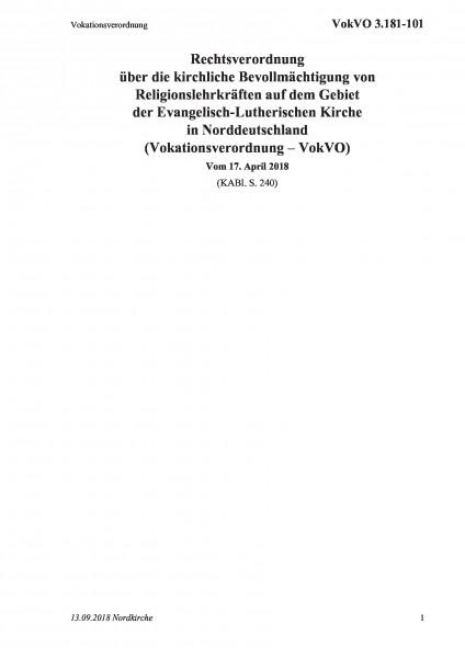 3.181-101 Vokationsverordnung