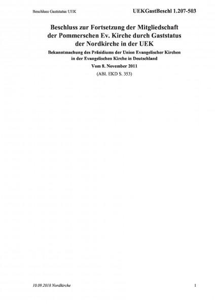 1.207-503 Beschluss Gaststatus UEK