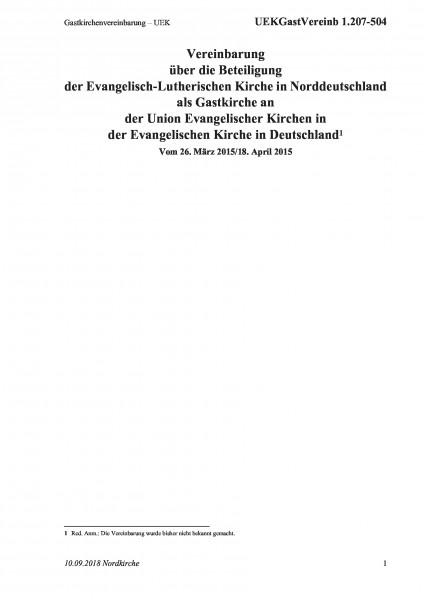 1.207-504 Gastkirchenvereinbarung – UEK