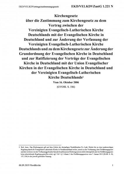 1.221 N EKD/VELKDVertragszustimmungsgesetz