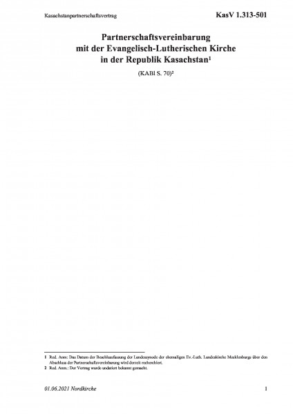 1.313-501 Kasachstanpartnerschaftsvertrag