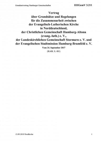 3.211 Grundsatzvertrag Hamburger Gemeinschaften