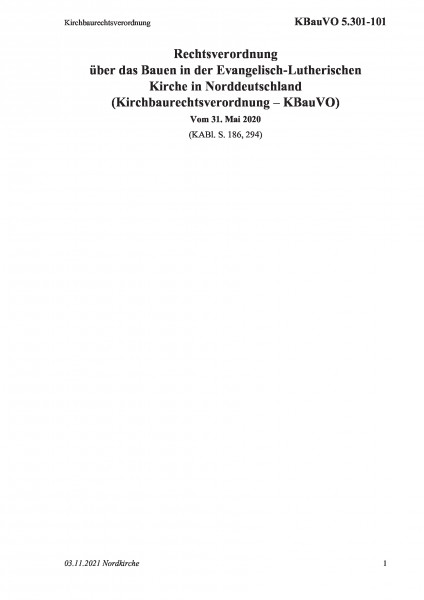 5.301-101 Kirchbaurechtsverordnung