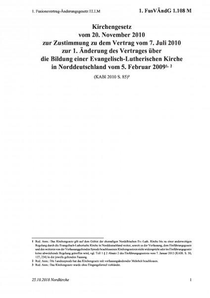 1.108 M 1. Fusionsvertrag-Änderungsgesetz ELLM