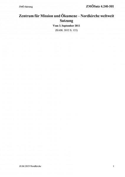 4.240-501 ZMÖ-Satzung