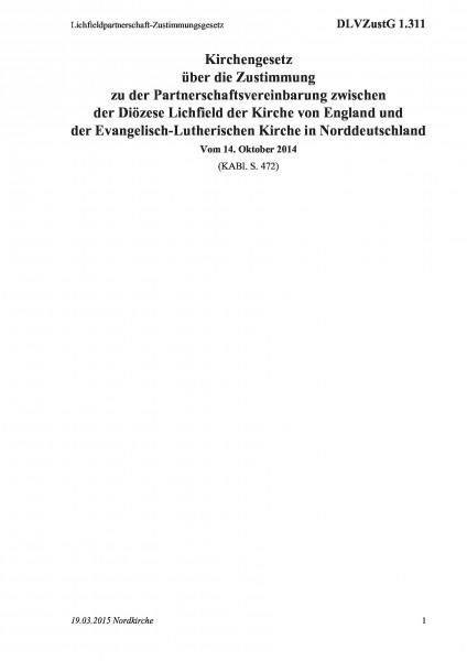 1.311 Lichfieldpartnerschaft-Zustimmungsgesetz
