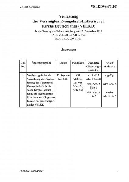 1.201 VELKD-Verfassung
