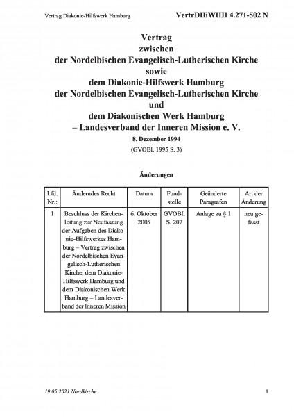 4.271-502 N Vertrag Diakonie-Hilfswerk Hamburg