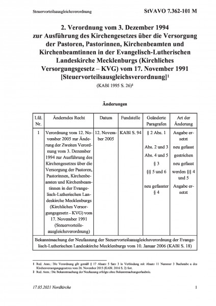 7.362-101 M Steuervorteilsausgleichsverordnung