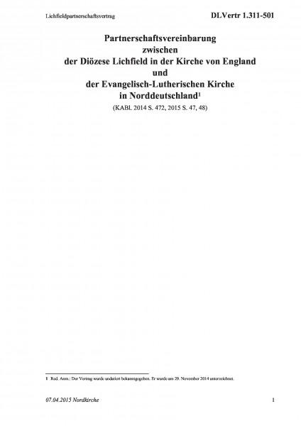 1.311-501 Lichfieldpartnerschaftsvertrag